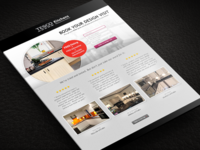 Responsive Tesco Kitchens Landing Page