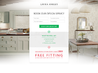 Landing page form full