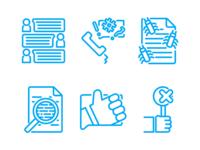 Customer Satisfaction Icons