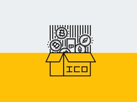 ICO Initial Coin Offering Cryptocurrency Icon