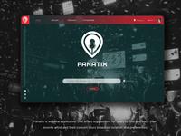Fanatix - Concert Web App