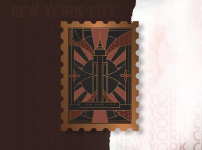New York City - Post Card