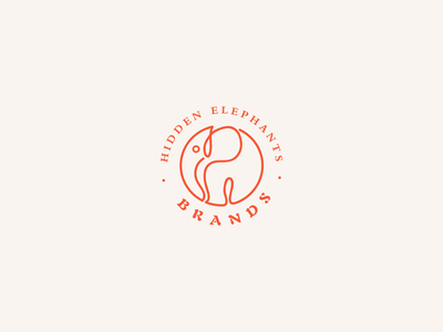 Loge For Elephant design illustration branding logo