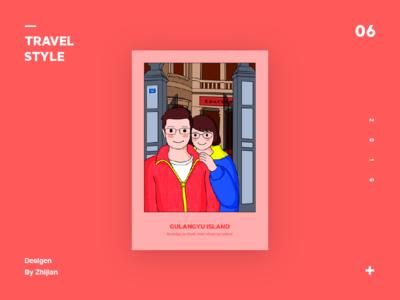 Travel series illustration exercises