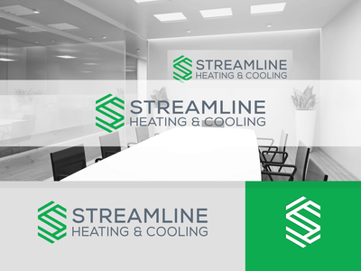 Streamline logo concept ux ui modernlogo medialogo s letter hexagon typography vector design icon graphic design streamline logo concept branding logo