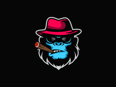Boss mafia monkey