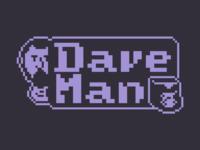 Dave-Man Logo