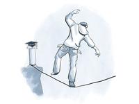 Capilano Courier Illustration