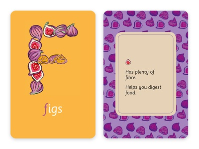 Healthy ABCs, Educational Flashcards
