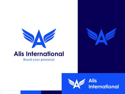 Logo Design - Alis International branding design logotype logos design logodesign vector illustration branding brand identity logo