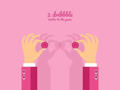 2 dribbble invites shots dribbble ball invite give away invitation 2 invites dribbble invites