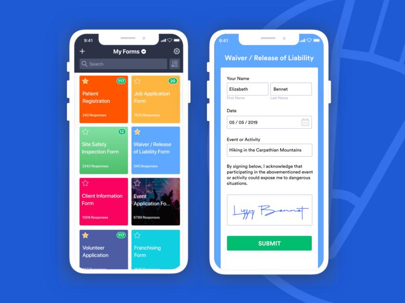 JotForm Mobile Froms mobile app design mobile app mobile forms mobile online form analysis jotform uiux ui design graphic design design illustration