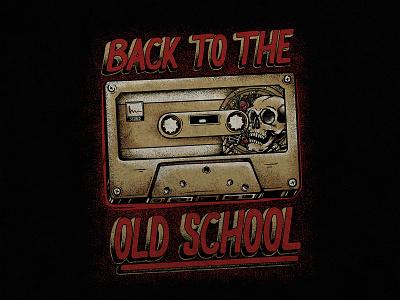 Cassette Tape designshirt handrawn brand apparel concept oldschool vintage retro badgedesign music artwork mixtape cassettes branding clothing drawing design apparel design illustration