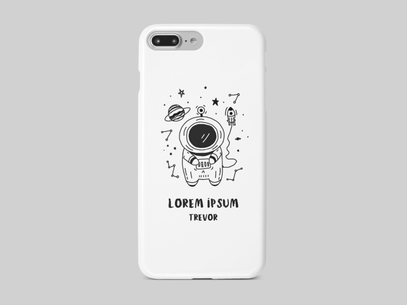 Phone cases-Universe skins cases design illustration