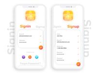 Signin UI Design