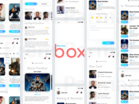 Review Box (Movie Review Concept App)