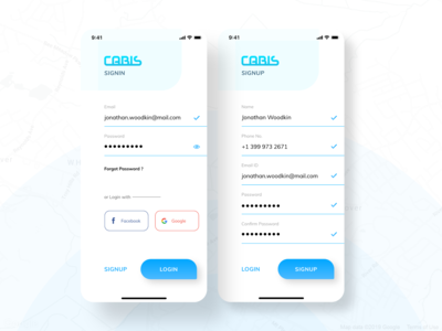 CABIS - TAXI SIGNUP