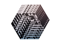 Extruded hexagon