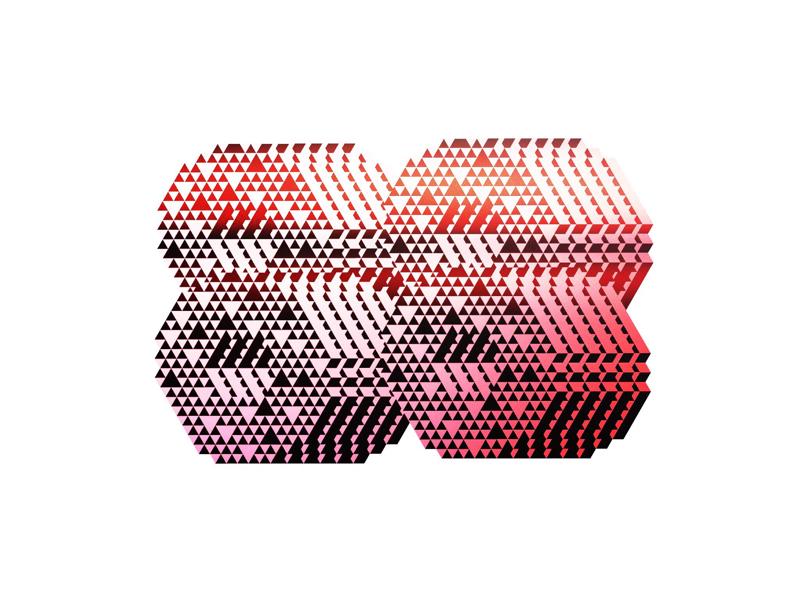 88 88 graphic pattern