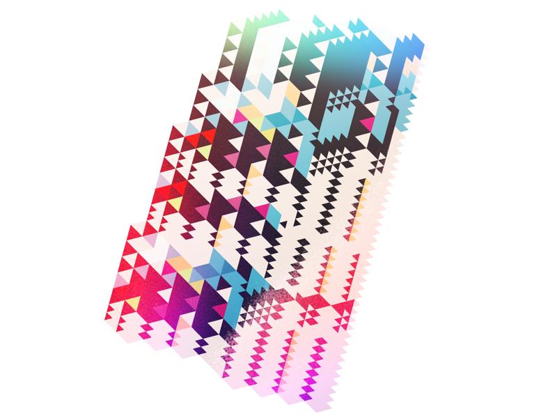 Random fragment gradients random geometric