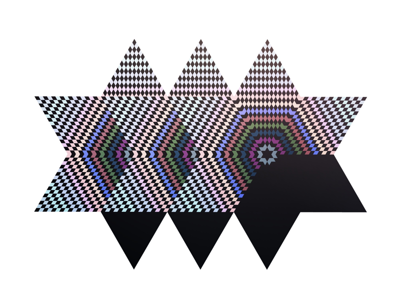 Patterned stars illustration graphic abstract star pattern geometric