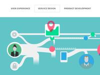 Service Design Illustration