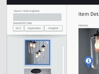 Luci Visual Curation - Add Items