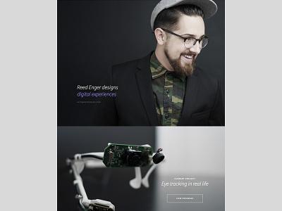 Reed Enger - New Portfolio portfolio website projects shameless self-promotion
