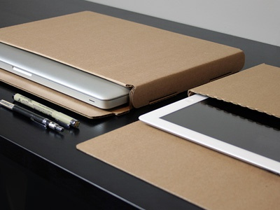 Rough Cases cardboard packaging cases corrugated ipad macbook