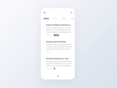 White Notes App the glyph studio illustration branding dairy navigation white website store search bar animation mobile typography notes messanger blog ux ui product the glyph minimalism