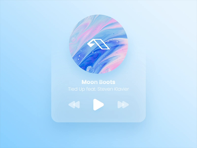 Minimalistic Player Widget