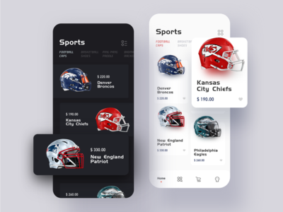 Sports Goods Store App