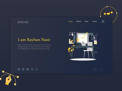 Web UI Design portfolio page portfolio minimal graphic creative user interface design user interface userinterface user experience ui design uidesign web design