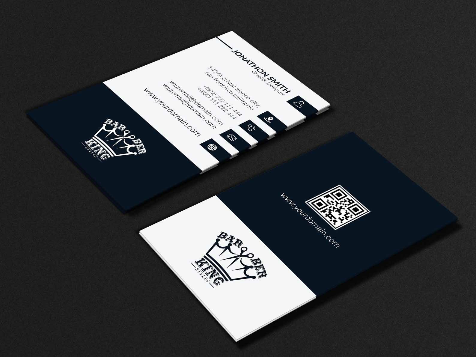 Business Card Design 08 By Rnrdesigner Dribbble Dribbble