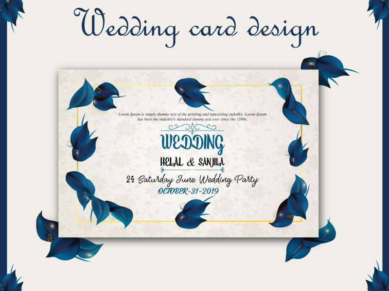 wedding card design wedding card wedding cards wedding card design invitation card invitation design design graphic minimal creative illustration vector