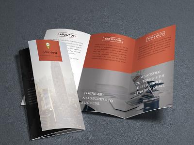 Tri-fold Brochure design minimal creative flat graphic design bi fold bi-fold brochure tri-fold brochure brochure mockup brochure design brochure