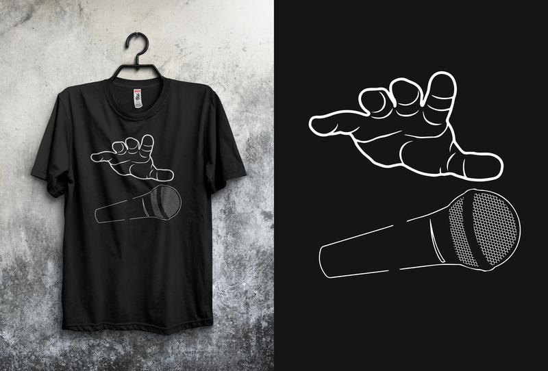 T-shirt Design For Client minimal vector flat creative graphic typography design tshirt tshirt design clientwork illustration