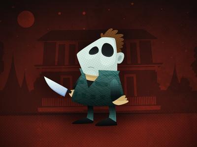 Michael Myers horror movie illustration slasher michaelmyers michael myers horror film halloween