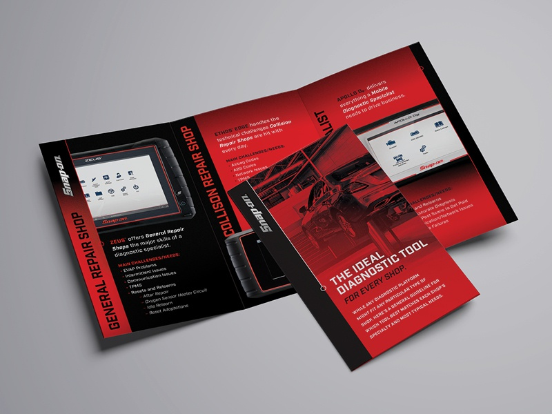 Snap-on® Pocket guide by Kristina Karlen on Dribbble