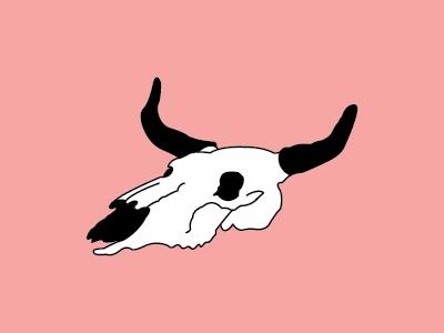 Personal Branding personal ox skull illustration branding