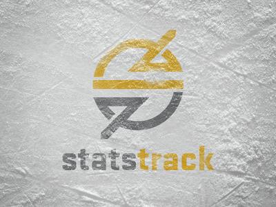 Statstrack tracking stats icon branding logo sports hockey analytics
