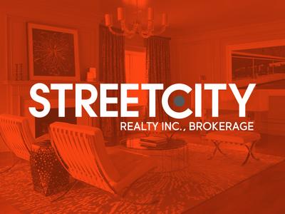 StreetCity Realty Inc., Brokerage incorporated city street toronto wordmark logo realestate brokerage realty