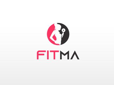 FITMA   |    Logo Design graphic design fitma logo fitma mother fitness logo gym logo gym usman chaudhery usman app web typography logo design flat vector illustration icon design branding logo