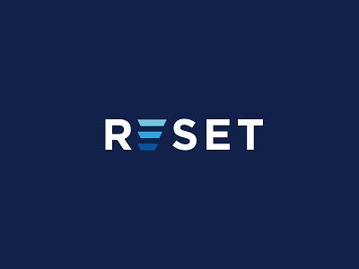 Reset e logo reset logo tech logo usman chaudhery usman app web logo design flat typography vector illustration icon design branding logo