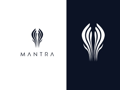 Mantra  | Branding cloth cloth brand mantra usman chaudhery usman app web typography logo design flat vector illustration icon design branding logo