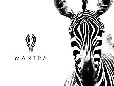 Mantra  | Branding clothbrand cloth zebralines zebra mantra usman chaudhery usman app web typography logo design flat vector illustration icon design branding logo