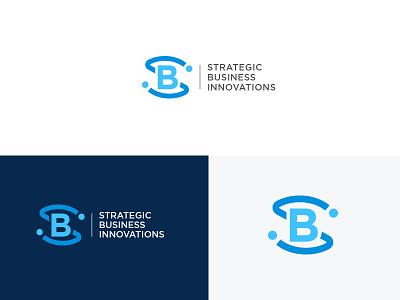 Strategic Business Innovations usman chaudhery usman app web typography logo design flat vector illustration icon design branding logo