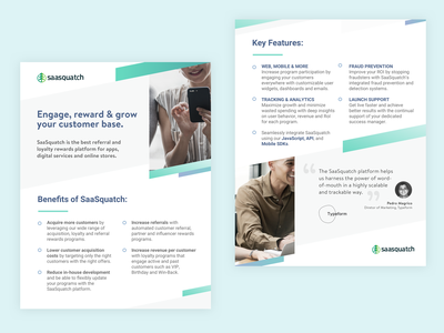 Two Page Sales Sheet Design sketch typography sales page branding marketing