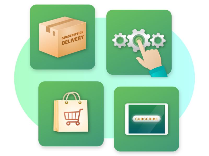Product Key Target Markets Illustration Set branding design logo icon vector sketch illustration