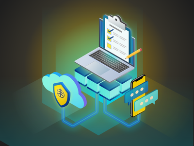 Loyalty Features Isometric Illustration isometric illustration isometric design isometric art isometric vector art illustration